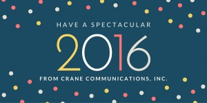 From CRANE COMMUNICATION, INC.